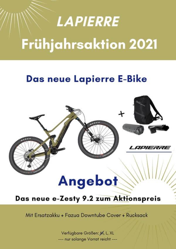 Radl Eherer Arnstorf, Lapierre eZesty 9.2 Frühjahrsaktion 2021